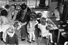 Maria Montessori with Kids