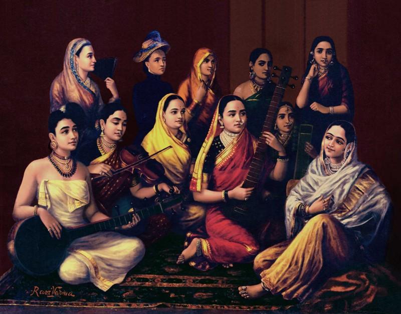Raja_Ravi_Varma,_Galaxy_of_Musicians.jpg