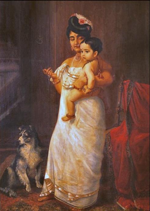 Raja_Ravi_Varma,_There_Comes_Papa_(1893).jpg